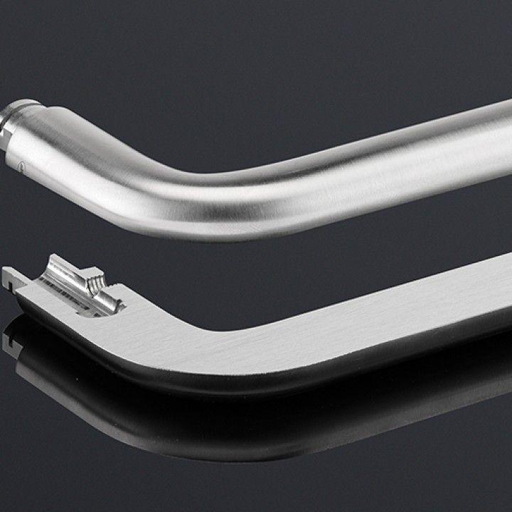 Puxador Maciço Ø18mm, com roseta metálica RC08M
