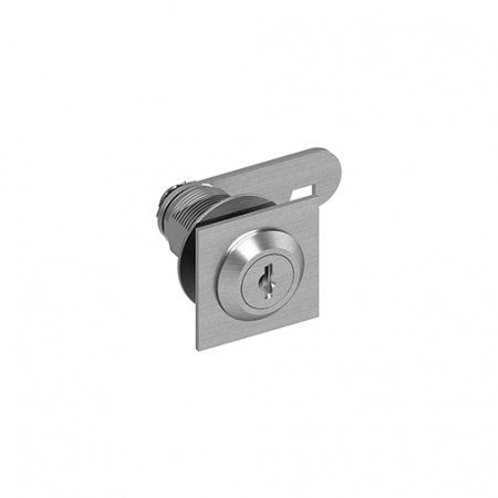 Lock with removable cylinder
