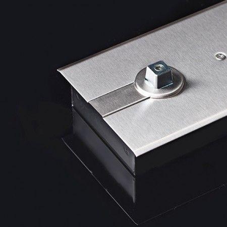 Quadra standard 13x13mm, para mola de pavimento