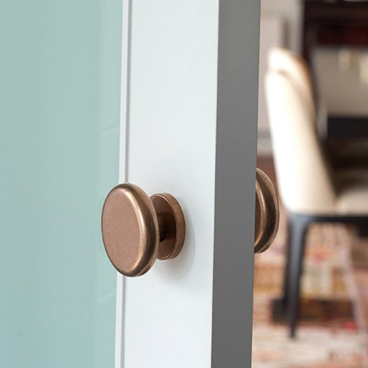 Lever handle Times - Ø70mm, with metallic rose RC08M