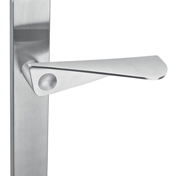 """Manilla de puerta """"Paper form"""" con placa ciega"""