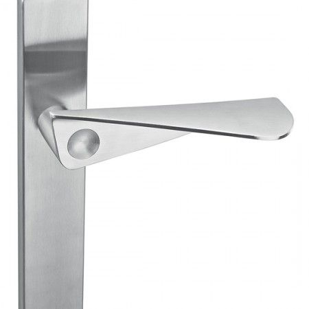"Lever handle ""Paper form"" with blind plate"
