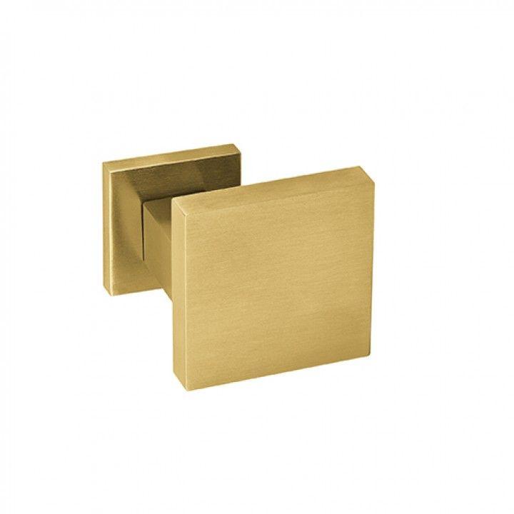 Pomo giratório -70x70mm - Titanium Gold
