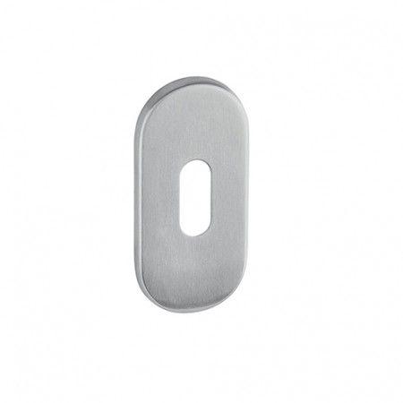 Entrada de chave normal com interior metálico - 60 x 30 x 4mm