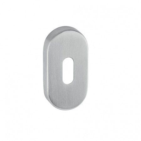 Normal key hole with nylon base - 60x30x8mm