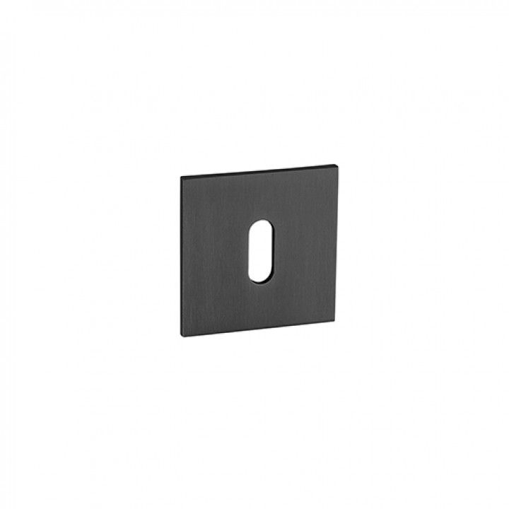 Metallic key hole for normal key Less is more