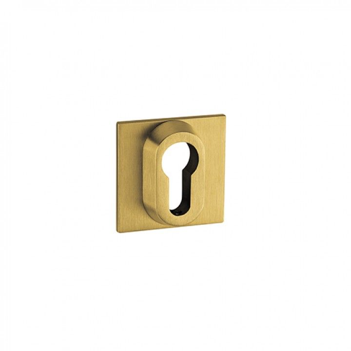 Metallic key hole for european cylinder Less is more