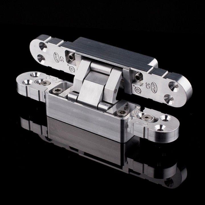 """Dobradiça invisível com ajuste 3D """"Coplan 165"""""""
