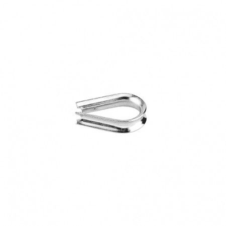 Wire thimble for 4mm wire rope