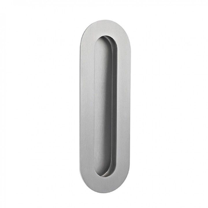 Oval Flush handle - 180 x 60mm
