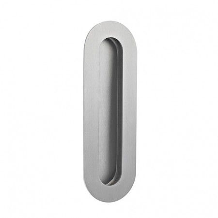 Oval Flush handle - 180 x 60mm