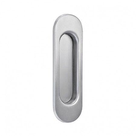 Oval Flush handle - 125 x 39mm