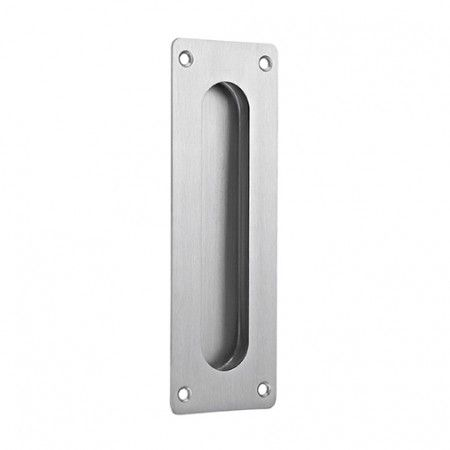 Rectangular Flush handle - 180 x 60mm