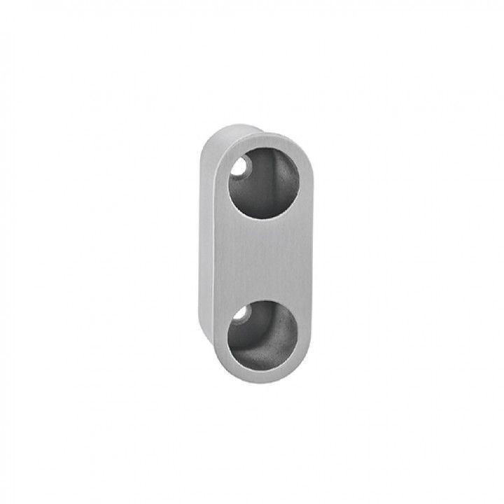 Oval Flush handle - 75 x 30mm