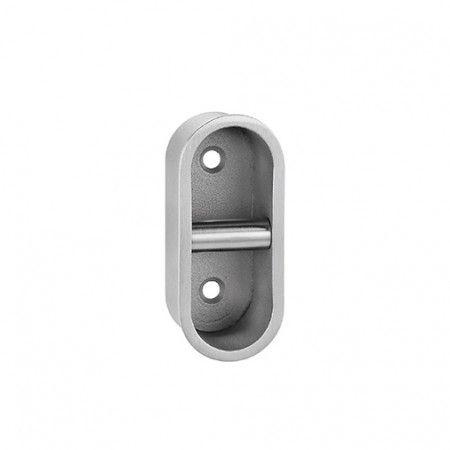 Oval Flush handle - 75 x 35mm