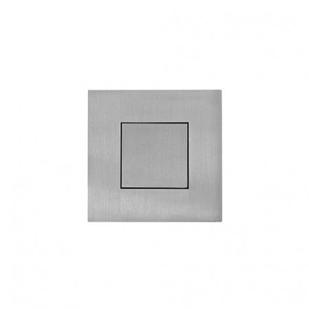 Square Flush handle with cover - 60 x 60mm