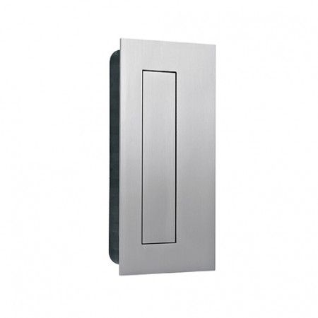 Rectangular Flush handle with cover - 135 x 70mm