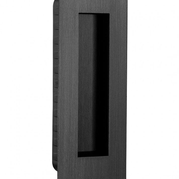 Rectangular Flush handle - 135 x 55mm -Black Anthracite