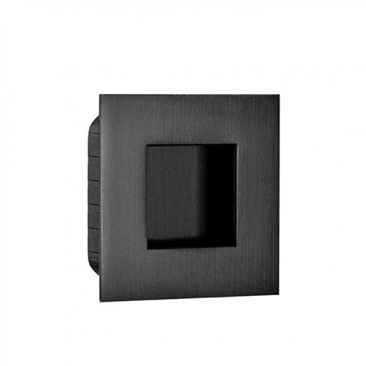Square Flush handle - 60 x 60mm -Black Anthracite