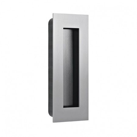 Rectangular Flush handle - 135 x 55mm