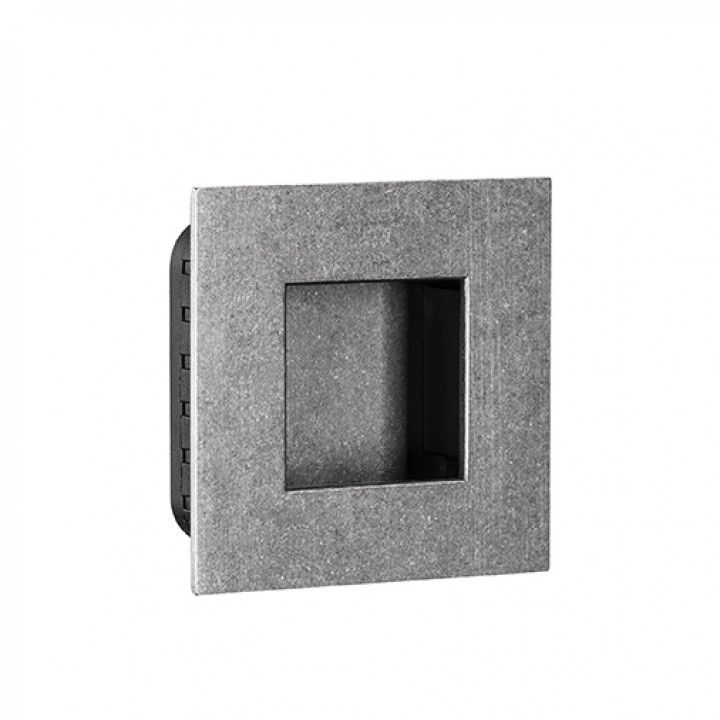 Square Flush handle - 60 x 60mm -Raw