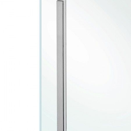 Rectangular flush handle to stich in the glass - 300 x 15mm