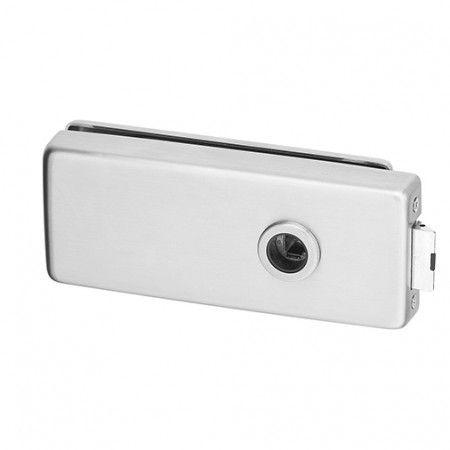 Door lock for glass