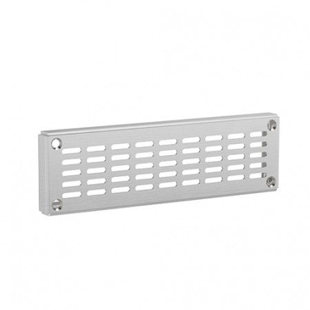 Reinforced ventilator with fixing screw - 200 x 60mm