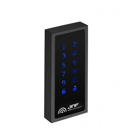 Electronic lock for lockers with keypad Black