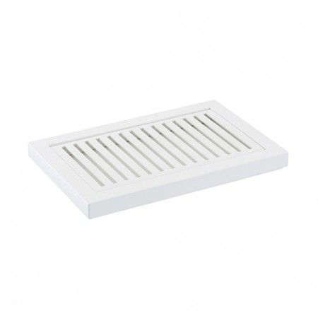 Table soap holder Slim White