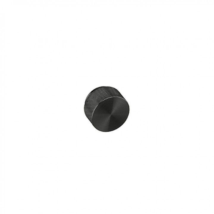 Furniture knob - TITANIUM BLACK