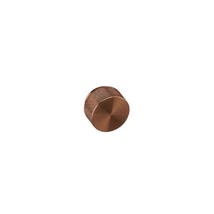 Furniture knob WATCH - TITANIUM COPPER