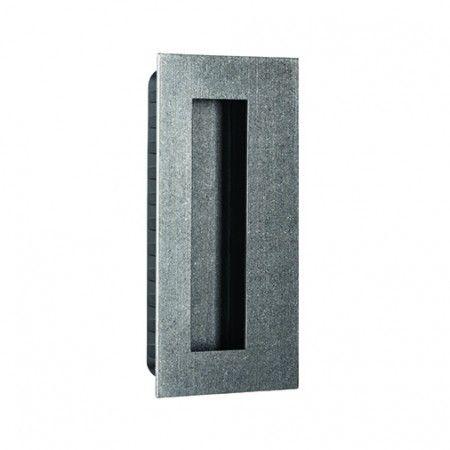 Rectangular Flush handle - 135x70mm - Raw
