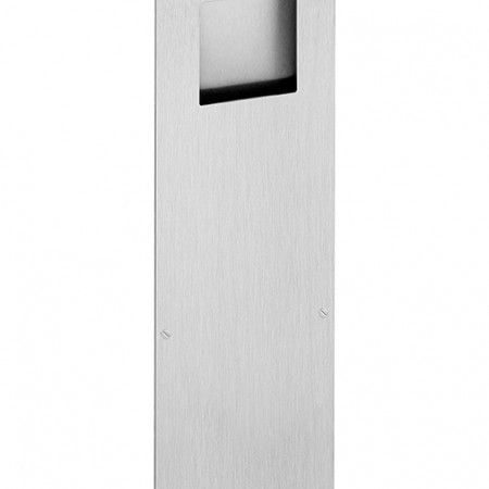 Rectangular flush handle