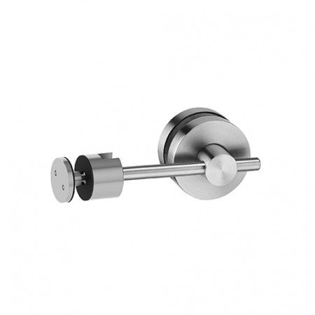 Latch with colour indication for glass doors