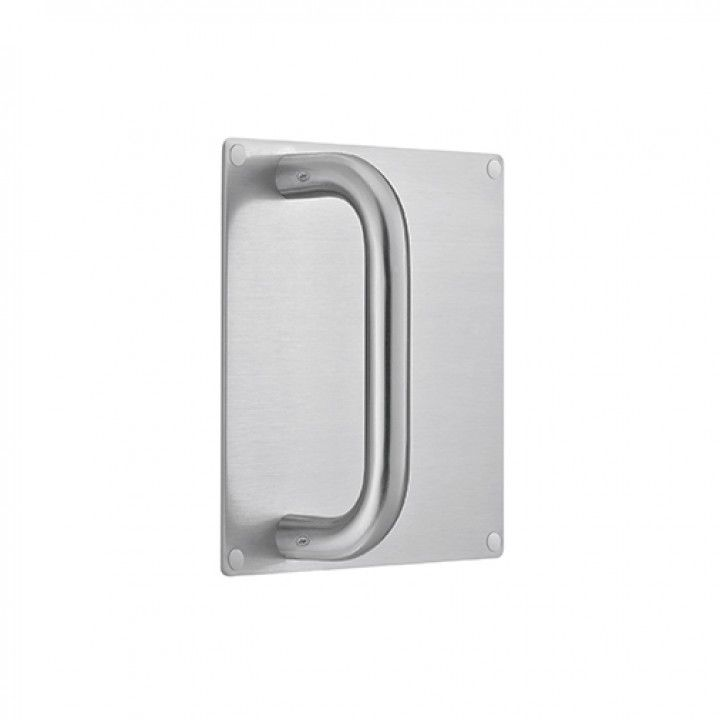 Plate 180 x 180mm with handle - Ø19mm