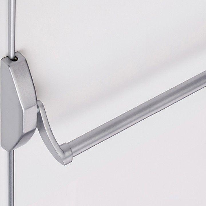 Antipanic door lock for Double Doors- RAL9006 + IN20950