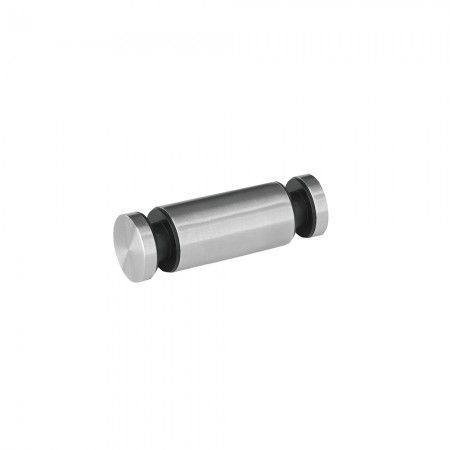 Double glass support with wall fixing (40mm)