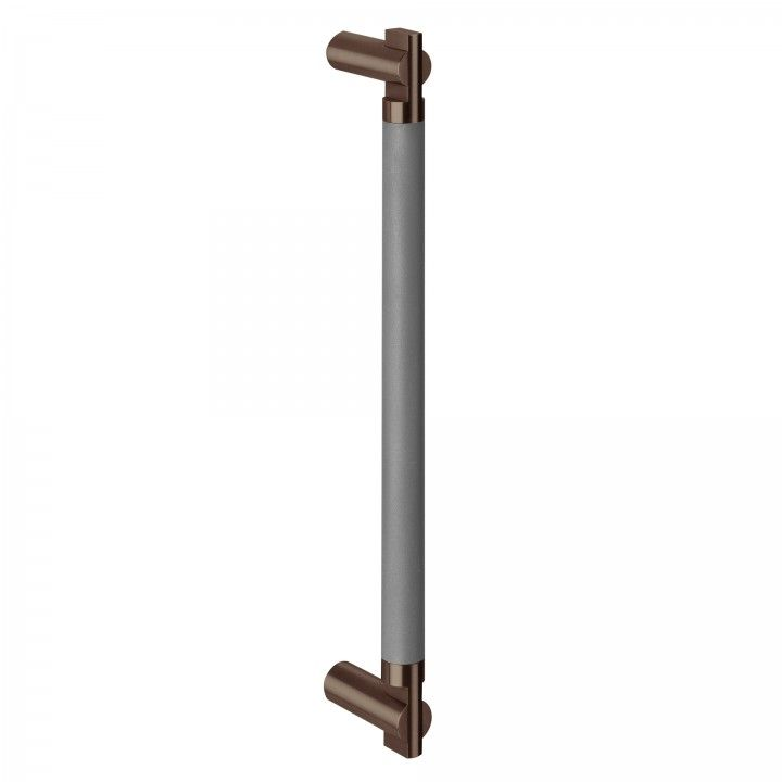 "Asa de porta - 300mm - ""Titanium Chocolate"""