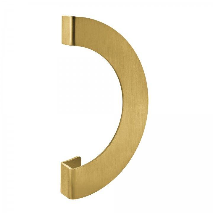 Manillon de puerta - 300mm - Titanium Gold