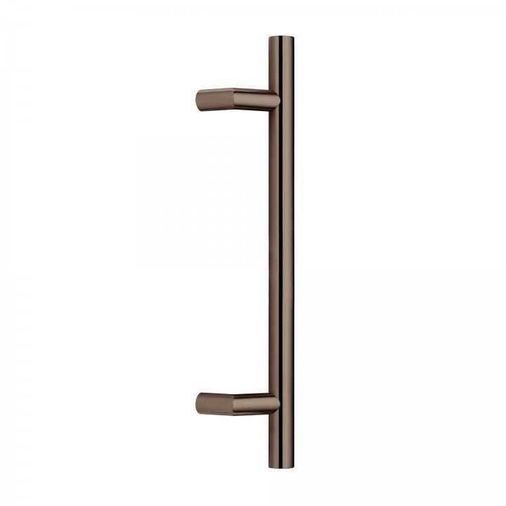 Manillon de puerta - 300mm - Titanium Chocolate