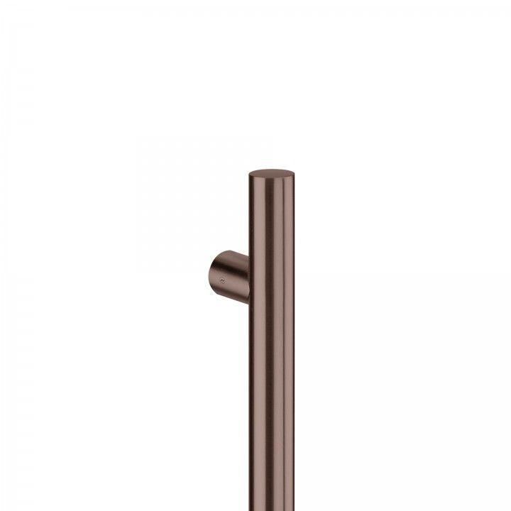 Pull handle Ø30mm - Titanium Chocolate