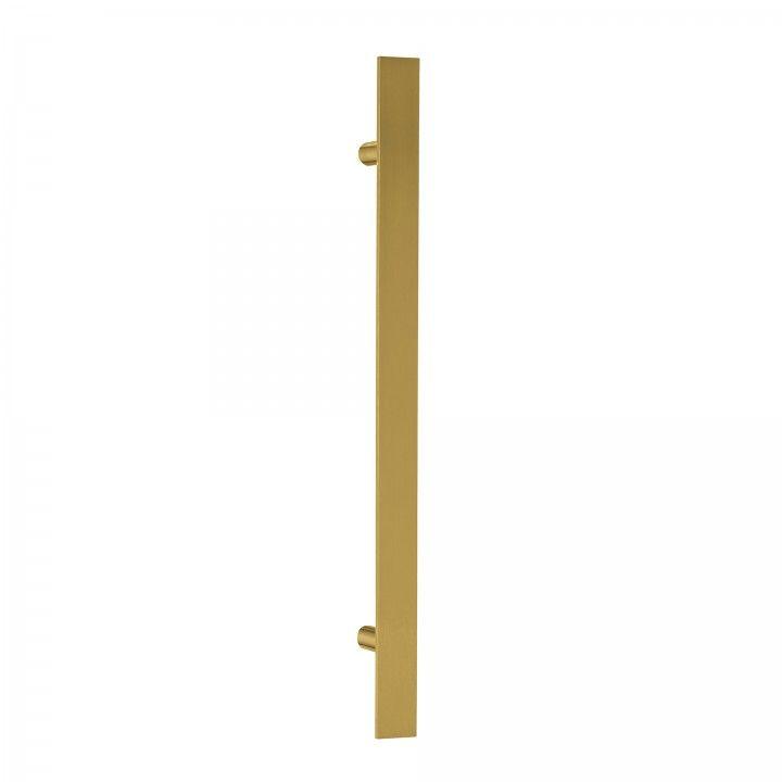 Manillon de puerta Square - 400mm Titanium Gold