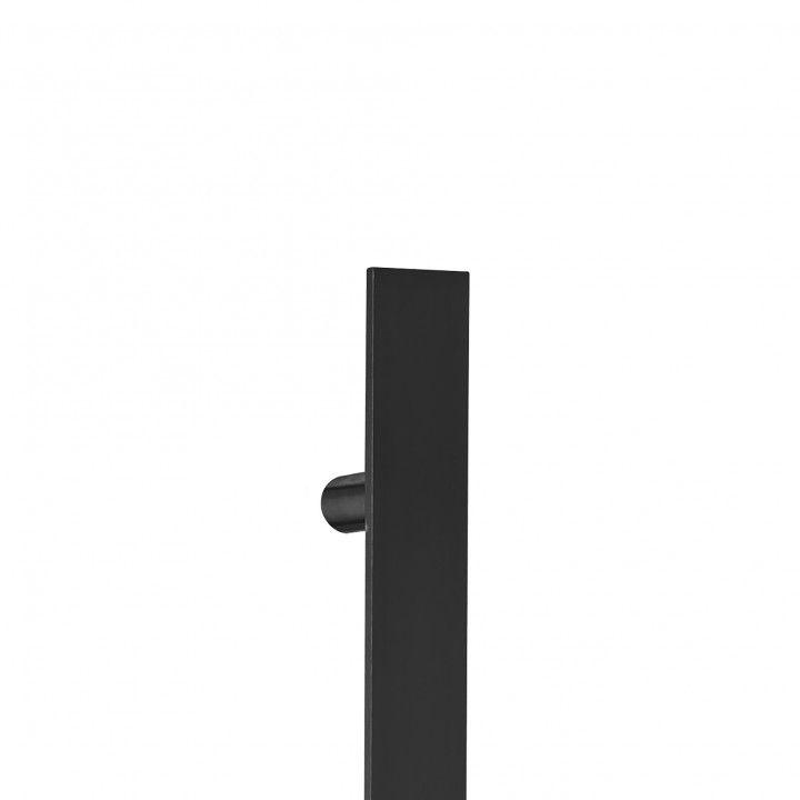 "Asa de porta ""Square"" - 400mm - ""Titanium Black"""