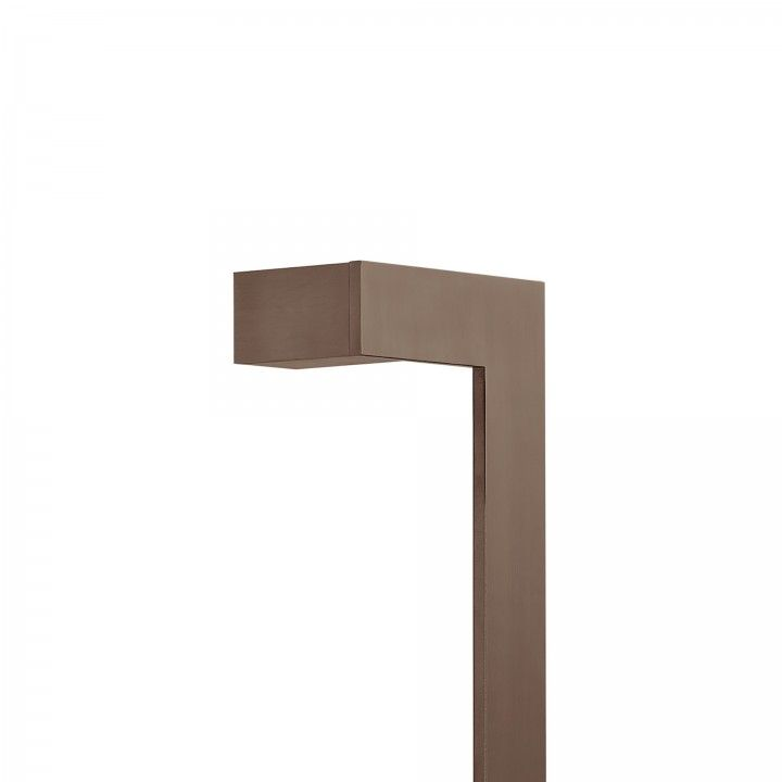 Pull handle Square - 400mm Titanium Chocolate