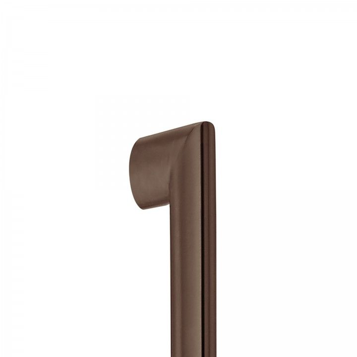 Manillon de puerta - 600mm - Titanium Chocolate