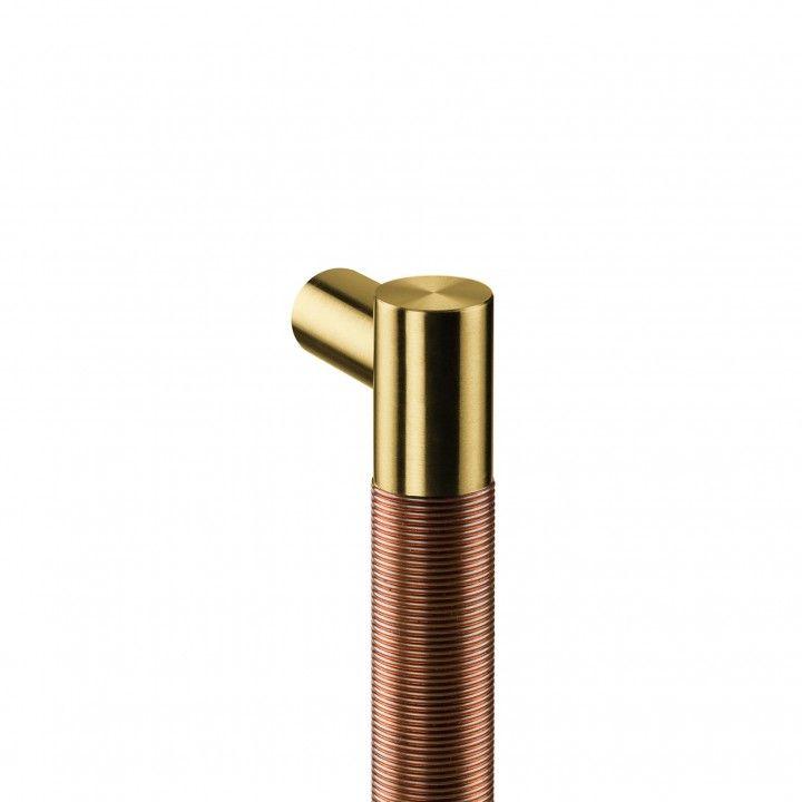 Pull handle Loft Copper Wire - 250mm - Titanium Gold