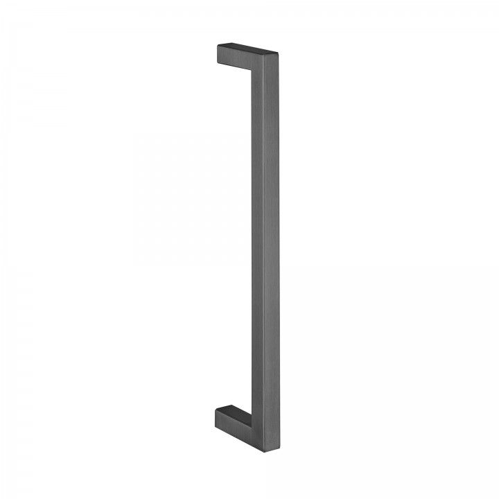Manillon de puerta  Quadro - 16x16mm - Titanium Black