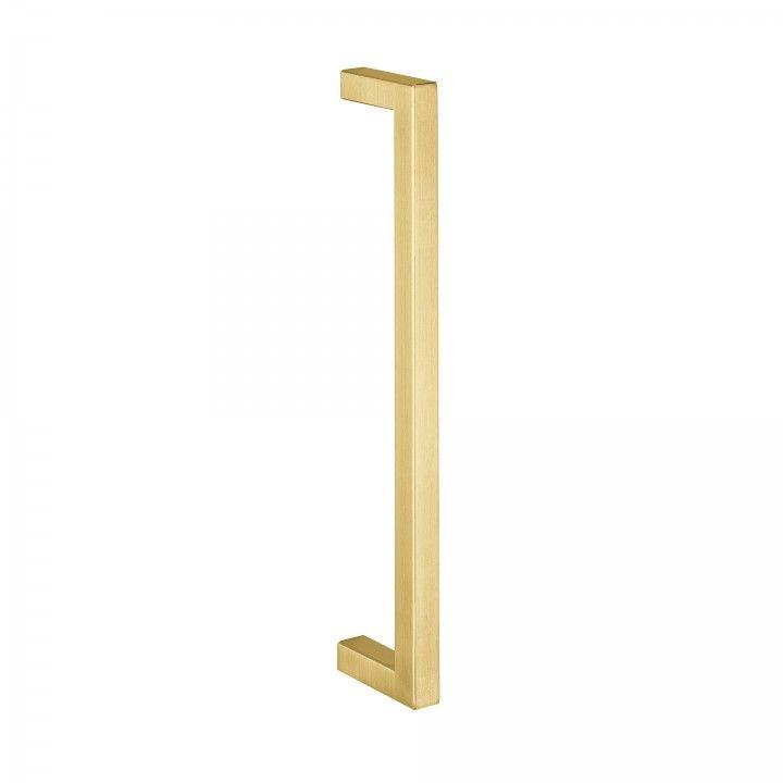 Pull handle Quadro - 16x16mm - Titanium Gold