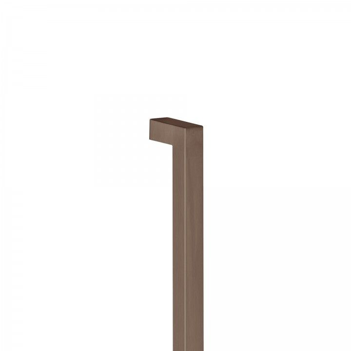 Manillon de puerta Quadro - 25x25mm  - Tit Chocolate